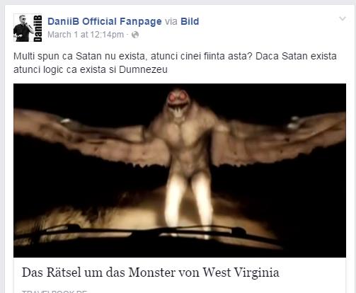 daniib, satana exista, facebook, youtube