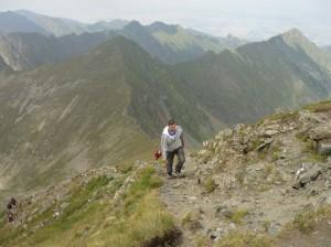 prin munti, varful moldoveanu