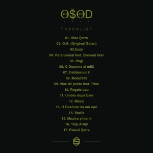 Tracklist OSOD - 5MM Bleed